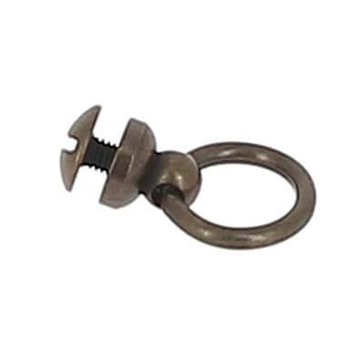 bouton de col avec anneau