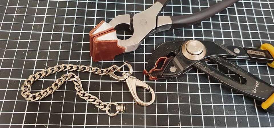 Assemblage chaîne de sac