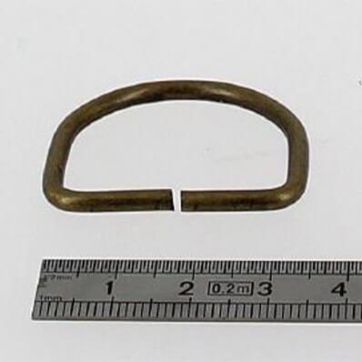 anneau demi-rond