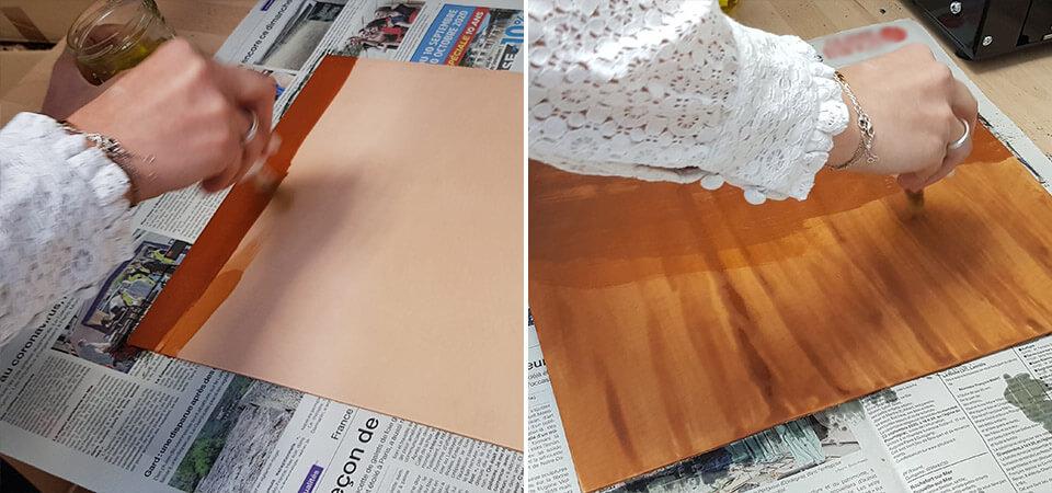teinter cuir petanque