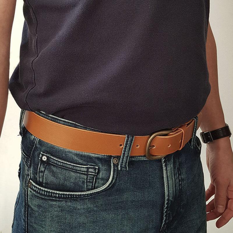 tutoriel ceinture en cuir