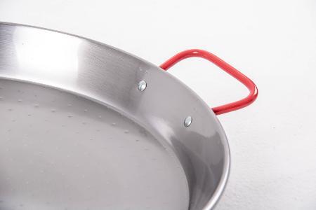 Poêle à paella acier poli 24 cm