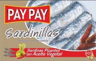 Petites Sardines piquantes