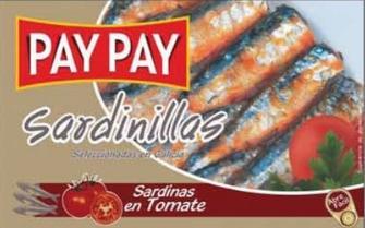 Petites Sardines à la tomate