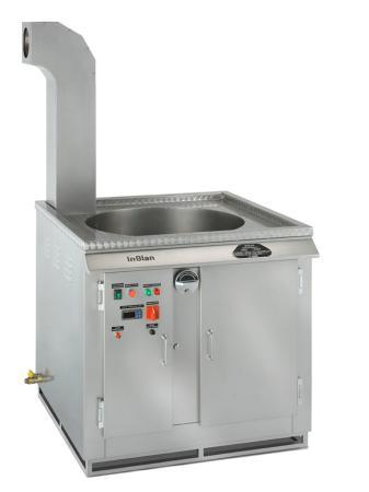 Friteuse à churros gaz  Inblan 50 Litres