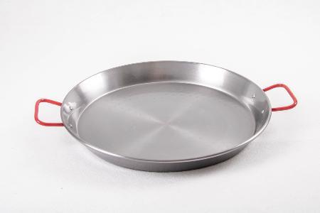 Poêle à paella acier poli 28 cm