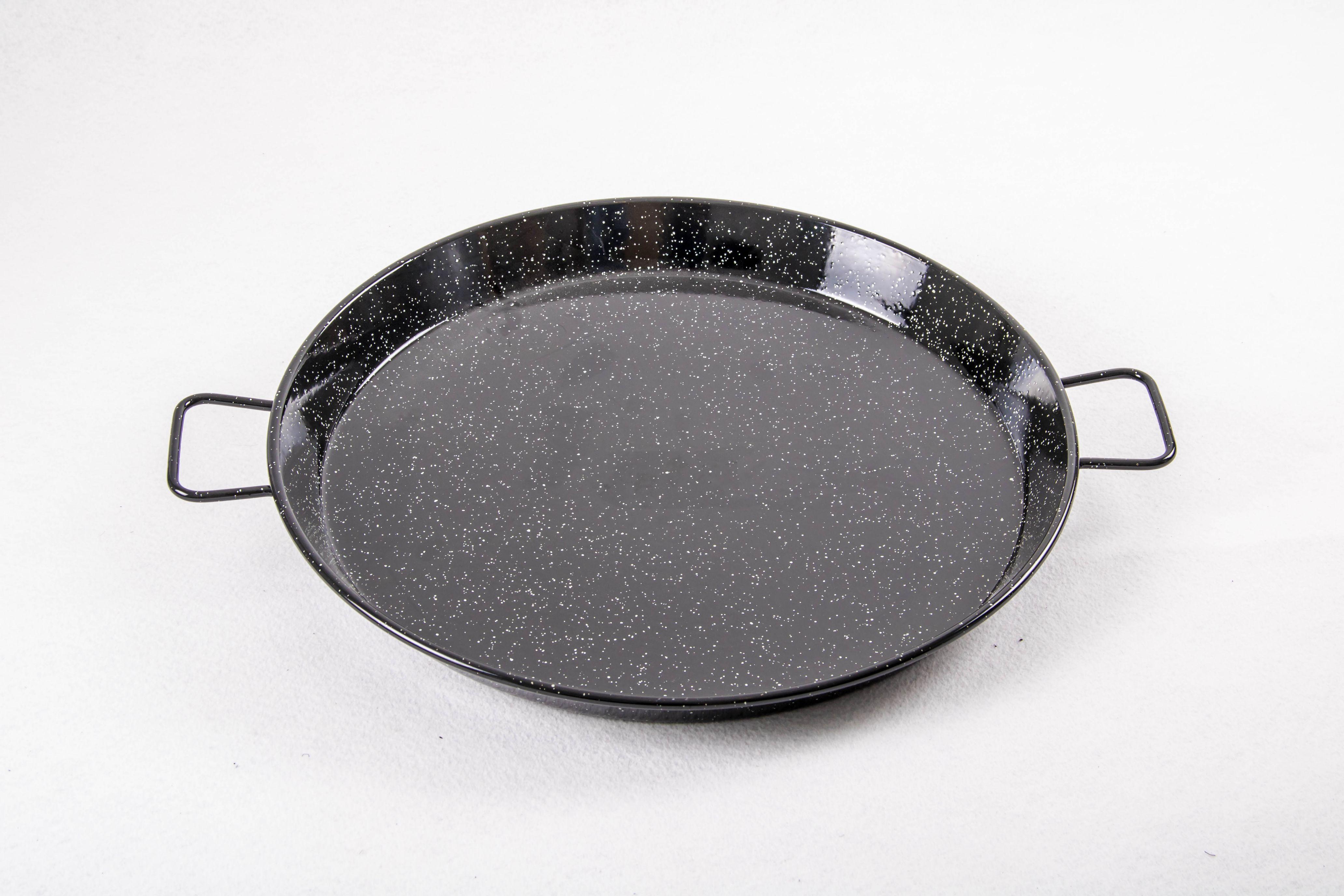 Poêle à paella acier émaillé 50 cm