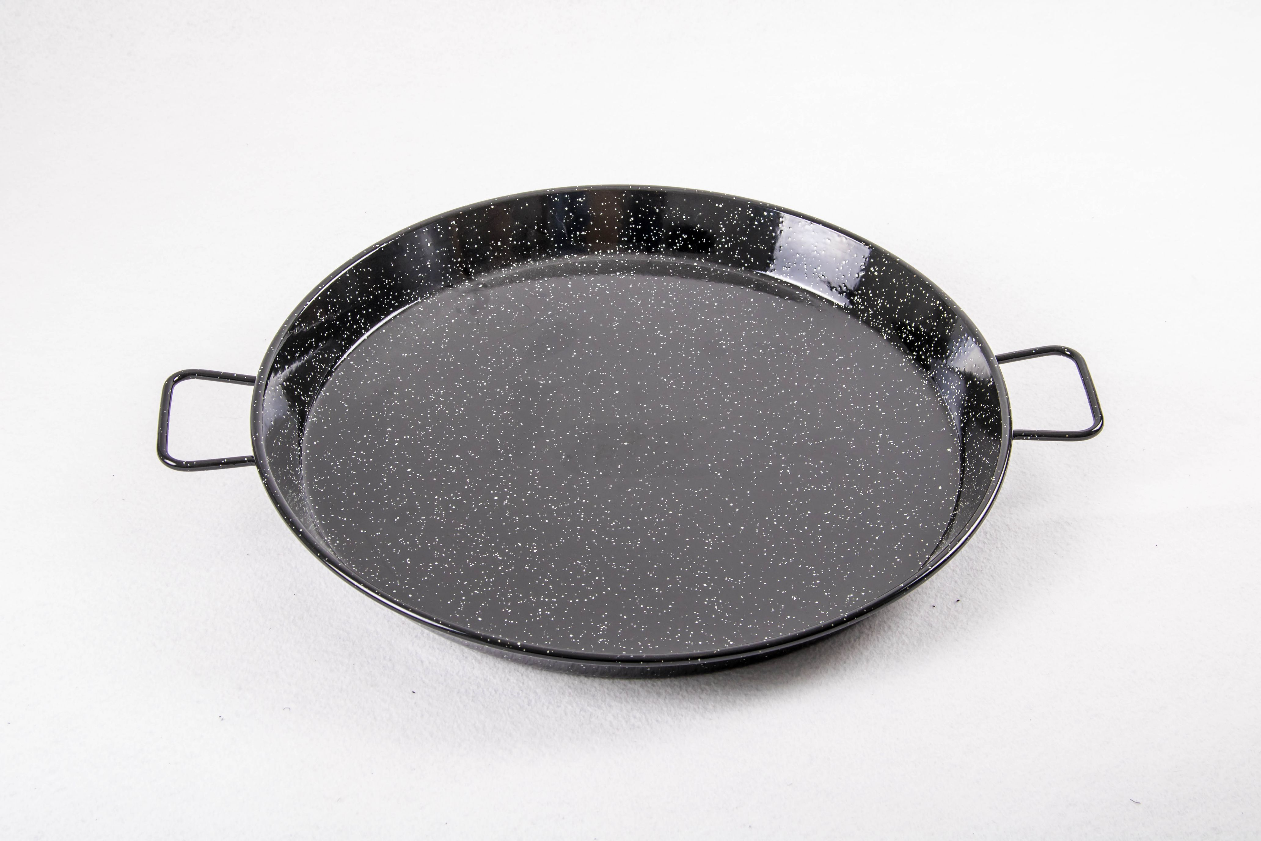 Poêle à paella acier émaillé 36 cm