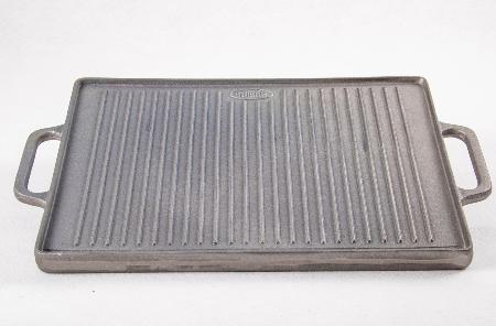 Plancha rectangulaire en fonte 50x35