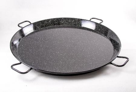Poêle à paella acier émaillé 90 cm