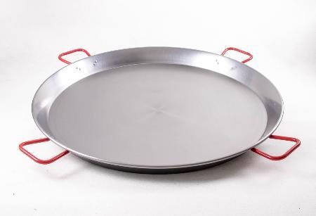 Poêle à paella acier poli 115 cm