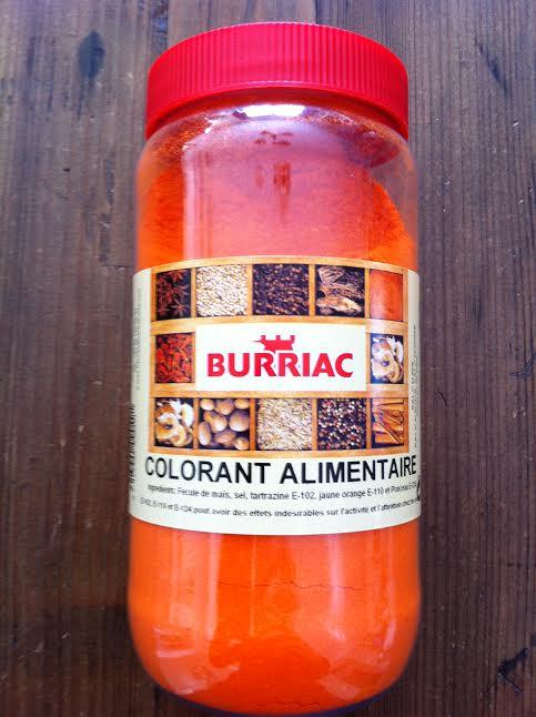 Colorant alimentaire pour paella Burriac 500g