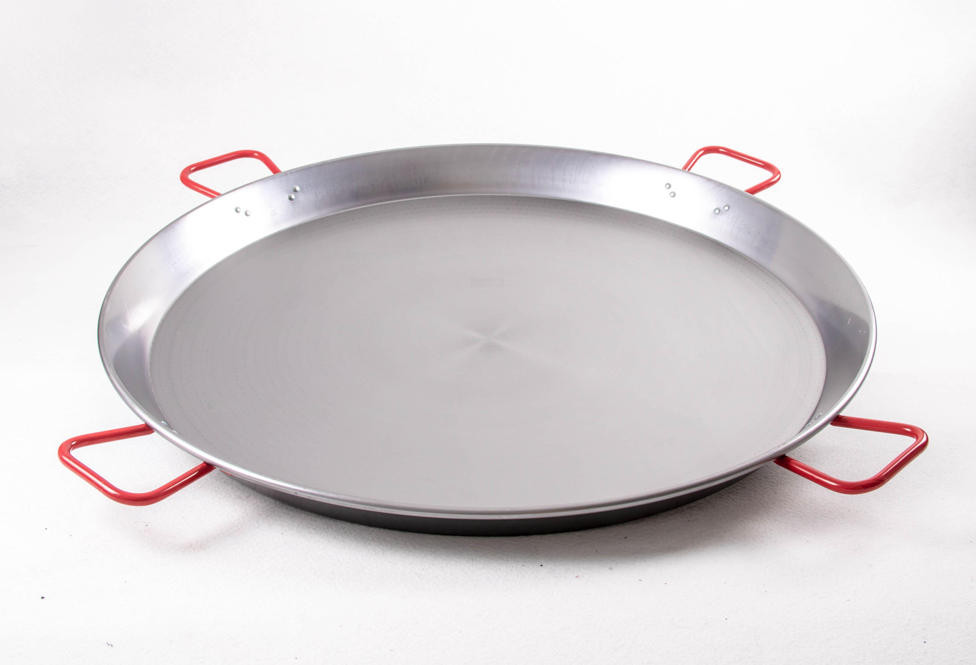 Poêle à paella acier poli 90 cm