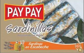 Petites Sardines à l'escabèche