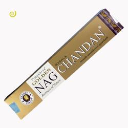 Encens Golden nag Chandan en Bâtonnets Vijayshree Qualité supérieure