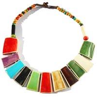 collier en os style ethnique artisanat en vente dans la boutique en ligne Matajava