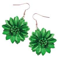 Boucles d'oreilles en cuir ou simili cuir vente en ligne dans la boutique Matajava