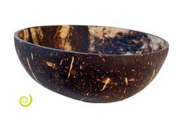 Bol coupelle en noix de coco naturelle Petite taille