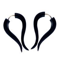 Boucles d'oreilles en corne ou en os vente en ligne dans la boutique Matajava