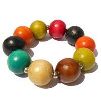 Bracelets en bois creations artisanales en vente dans la boutique en ligne Matajava