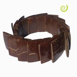 Bracelets en noix de coco