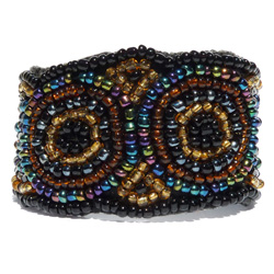 Bracelet Original Bohême Chic Broderie de perles de rocaille