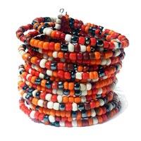 Bracelets en perles de rocailles et mélange en vente dans la boutque en ligne Matajava créations artisanales