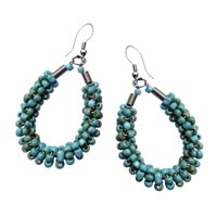 Boucles d'oreilles en perles de rocaille vente en ligne dans la boutique Matajava