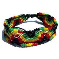 Bracelets cordons ajustables réglables tressés macramé en vente dans la boutique en ligne Matajava