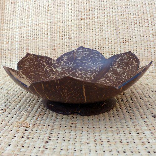 porte-savon original et artisanal en noix de coco artisanat de Bali