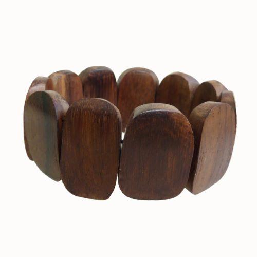 Bracelet en bois naturel simple et original