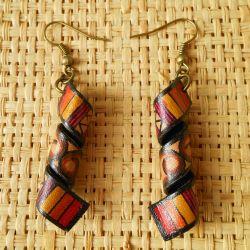 Boucles d'oreilles Originales style ethnique artisanales
