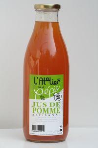 JUS DE POMME . 1 L.
