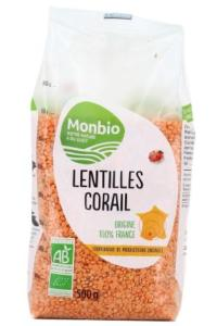 LENTILLES CORAIL AB. 500 g.