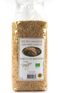 RIZ SEMI-COMPLET CAMARGUE AB. 1 kg.