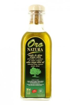 HUILE D'OLIVE EXTRA VIERGE (BEC VERSEUR). 50 CL