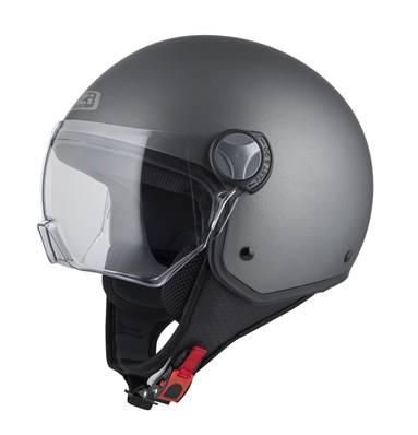 NZI - Casque Moto, Scooter Demi-Jet - CAPITAL VISION - Anthracite Mat