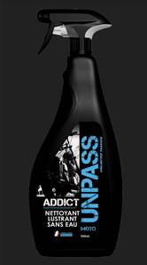 ADDICT sans eau 500ml + Microfibre