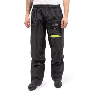 Pantalon de Moto Homme Rain Pants One Rider-Tec Noir & Jaune