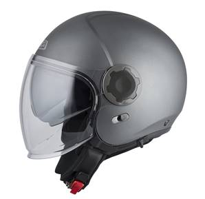 NZI - Casque Moto, Scooter Jet - RINGWAY DUO - Anthracite Mat
