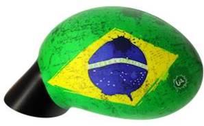 Housse rétroviseur voiture décorative Brésil