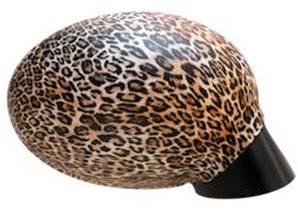 Housse rétroviseur voiture décorative léopard