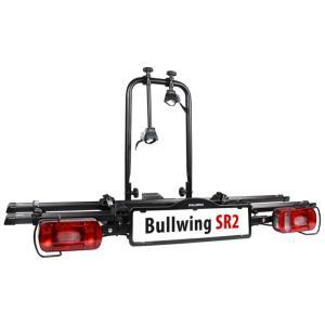 Porte-vélos d'attelage plateforme pour 2 vélos Bullwing SR2