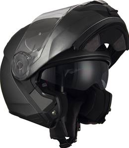 NZI - Casque Moto, Scooter Modulable - COMBI2 DUO - Anthracite Mat