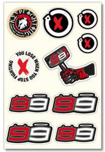 STICKERS LORENZO 99 SMALL