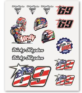 Nicky Hayden Big Stickers