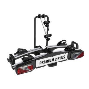 Porte-vélos 2 vélos sur attelage PREMIUM 2 PLUS basculant et pliable - EUFAB