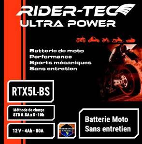 Batterie sans entretien 12V 4AH