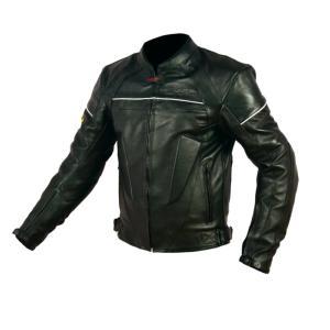 Blouson de Moto Homme Street Rider-Tec Cuir Noir