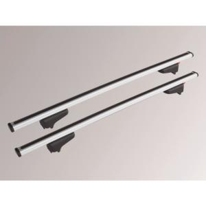 Barres de toit réglables fixation rapide en aluminium